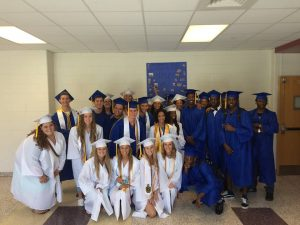 Senior Walk at Carrollton Elementary